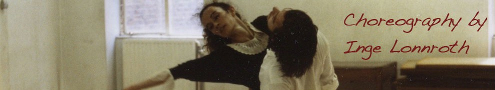 "Choreography by Inge Lonnroth - clipped from ""Breaking Strings"""